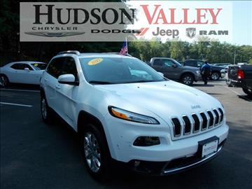 2017 Jeep Cherokee for sale at Hudson Valley Auto Exchange in Newburgh NY