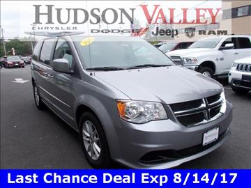2016 Dodge Grand Caravan for sale at Hudson Valley Auto Exchange in Newburgh NY
