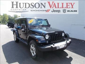 2015 Jeep Wrangler Unlimited for sale at Hudson Valley Auto Exchange in Newburgh NY