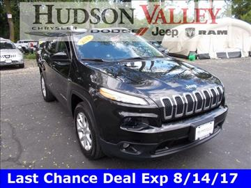2015 Jeep Cherokee for sale at Hudson Valley Auto Exchange in Newburgh NY