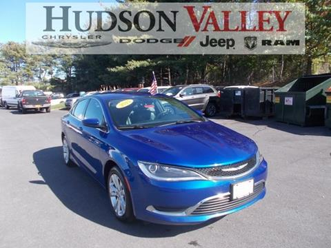 2015 Chrysler 200 for sale at Hudson Valley Auto Exchange in Newburgh NY