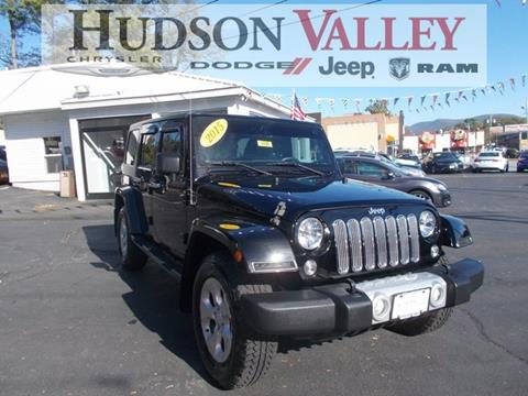 2015 Jeep Wrangler Unlimited for sale in Newburgh, NY