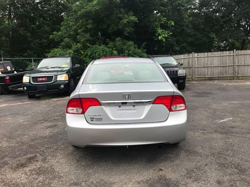 2009 Honda Civic LX 4dr Sedan 5A - Taunton MA
