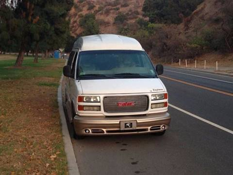 2002 GMC Savana Passenger for sale in Los Angeles, CA