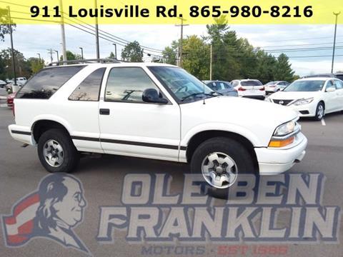 1998 Chevrolet Blazer for sale in Alcoa, TN