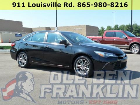 2016 Toyota Camry for sale in Alcoa, TN