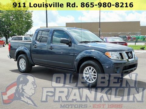 2016 Nissan Frontier for sale in Alcoa, TN