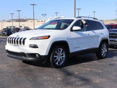 2014 Jeep Cherokee Limited for sale at Ole Ben Franklin Motors-Mitsubishi of Alcoa in Alcoa TN