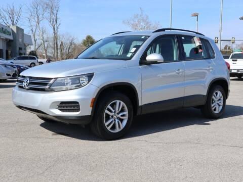2017 Volkswagen Tiguan for sale at Ole Ben Franklin Motors-Mitsubishi of Alcoa in Alcoa TN
