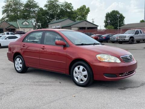 2006 Toyota Corolla for sale at Ole Ben Franklin Motors-Mitsubishi of Alcoa in Alcoa TN