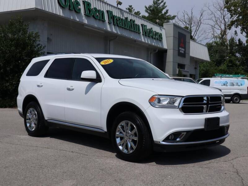 2017 Dodge Durango for sale at Ole Ben Franklin Motors-Mitsubishi of Alcoa in Alcoa TN