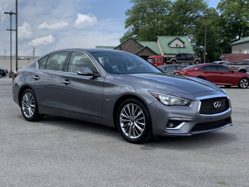 2018 Infiniti Q50 for sale at Ole Ben Franklin Motors-Mitsubishi of Alcoa in Alcoa TN
