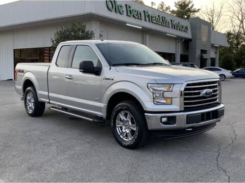 2017 Ford F-150 for sale at Ole Ben Franklin Motors-Mitsubishi of Alcoa in Alcoa TN