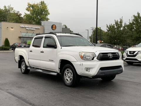2015 Toyota Tacoma for sale at Ole Ben Franklin Motors-Mitsubishi of Alcoa in Alcoa TN