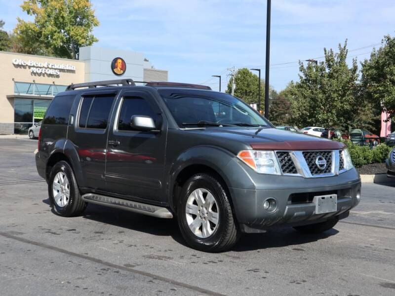 2007 Nissan Pathfinder for sale at Ole Ben Franklin Motors-Mitsubishi of Alcoa in Alcoa TN
