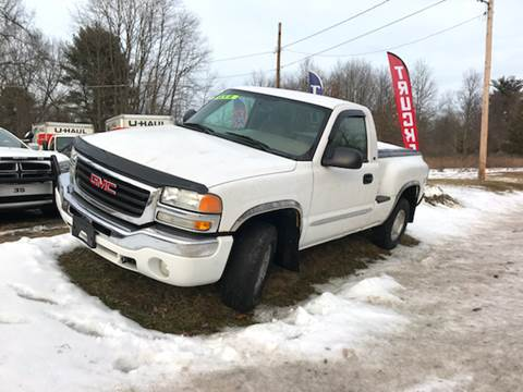 2004 GMC Sierra 1500 for sale at Wallet Wise Wheels in Montgomery NY