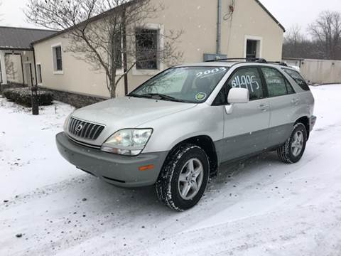 2003 Lexus RX 300 for sale at Wallet Wise Wheels in Montgomery NY