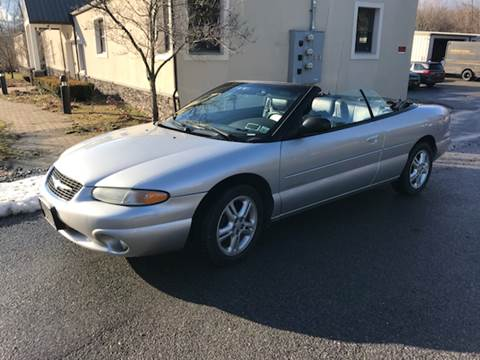 2000 Chrysler Sebring for sale at Wallet Wise Wheels in Montgomery NY