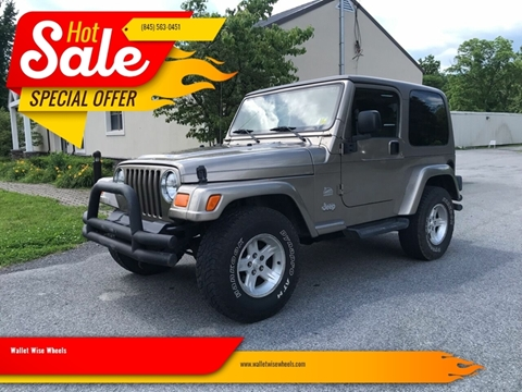 2004 Jeep Wrangler for sale in Montgomery, NY
