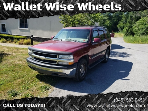 2001 Chevrolet Tahoe for sale in Montgomery, NY