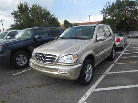2002 Mercedes-Benz M-Class for sale in Greensboro NC