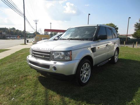 2008 Land Rover Range Rover Sport for sale in Greensboro NC