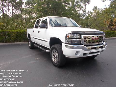 2005 GMC Sierra 1500 For Sale In Port Saint Lucie, FL