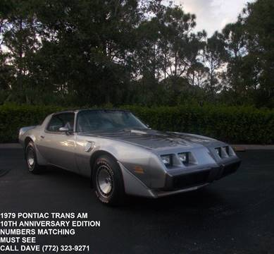 1979 Pontiac Trans Am for sale in Port Saint Lucie, FL
