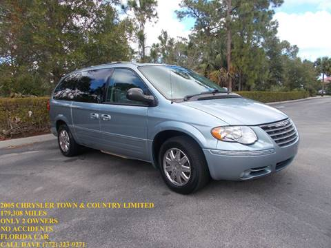 2005 Chrysler Town and Country for sale in Port Saint Lucie, FL