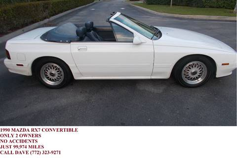 1990 Mazda RX-7 for sale in Port Saint Lucie, FL