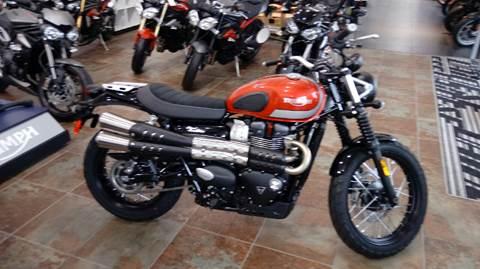 2017 Triumph Bonneville for sale in San Antonio, TX