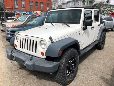 2007 Jeep Wrangler Unlimited for sale in Worcester, MA