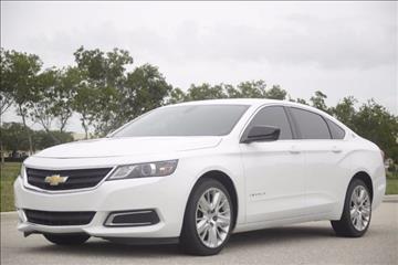 2014 Chevrolet Impala for sale at ATLAS AUTO in Venice FL