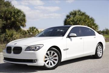 2011 BMW 7 Series for sale at ATLAS AUTO in Venice FL