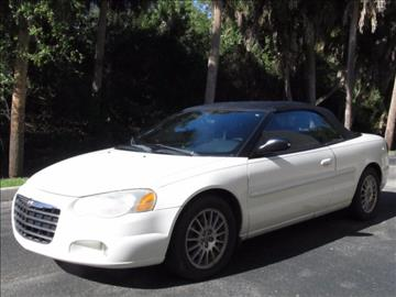 2005 Chrysler Sebring for sale at ATLAS AUTO in Venice FL