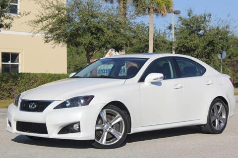 2011 Lexus IS 350 for sale at ATLAS AUTO in Venice FL