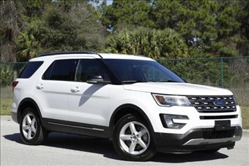 2017 Ford Explorer for sale at ATLAS AUTO in Venice FL