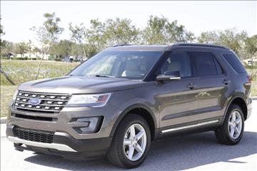 2016 Ford Explorer for sale at ATLAS AUTO in Venice FL