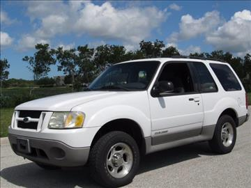 2002 Ford Explorer Sport for sale at ATLAS AUTO in Venice FL