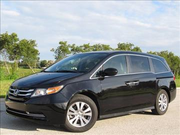 2014 Honda Odyssey for sale at ATLAS AUTO in Venice FL
