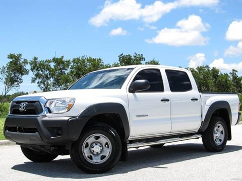 2014 Toyota Tacoma for sale at ATLAS AUTO in Venice FL