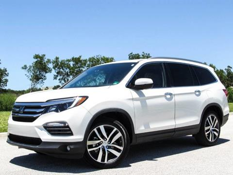 2017 Honda Pilot for sale at ATLAS AUTO in Venice FL