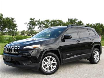 2016 Jeep Cherokee for sale at ATLAS AUTO in Venice FL