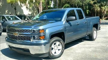 2014 Chevrolet Silverado 1500 for sale at ATLAS AUTO in Venice FL