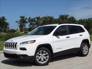 2017 Jeep Cherokee for sale at ATLAS AUTO in Venice FL