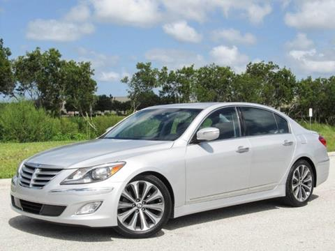 2014 Hyundai Genesis for sale at ATLAS AUTO in Venice FL