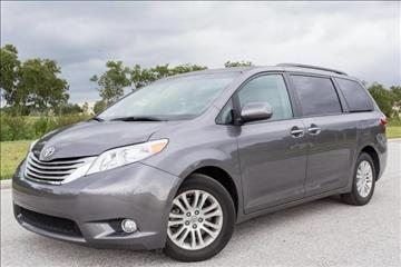 2015 Toyota Sienna for sale at ATLAS AUTO in Venice FL