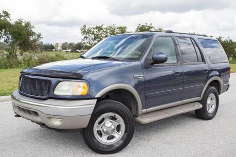 2001 Ford Expedition for sale at ATLAS AUTO in Venice FL