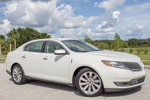 2013 Lincoln MKS for sale at ATLAS AUTO in Venice FL