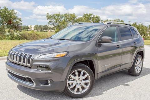 2017 Jeep Cherokee for sale at ATLAS AUTO in Venice FL